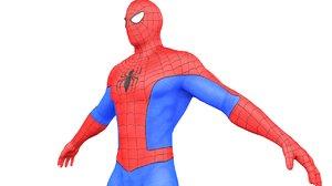 3D model spider man