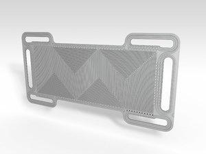 fuel cell 3D model