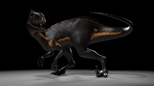 indoraptor jurassic world: 3D model