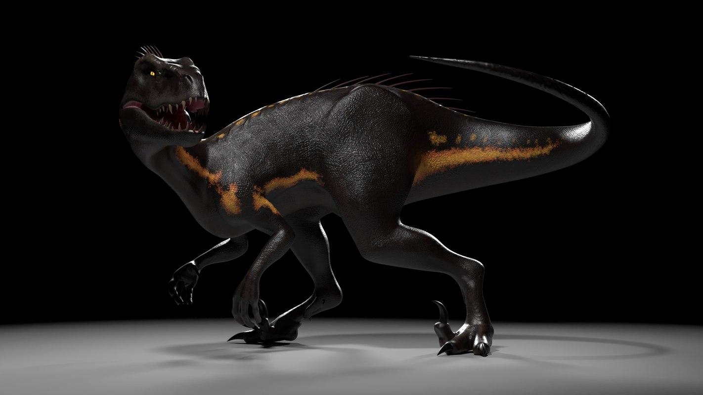 indoraptor jurassic world: 3D model