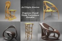 Organic - Fluid Furniture Bundle