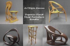 organic furniture model