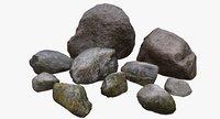 ready stones 3D