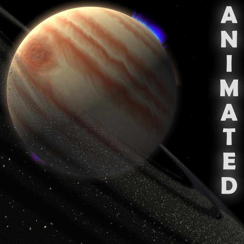 giant gas planet 3D