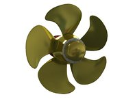 3D pitch control propeller