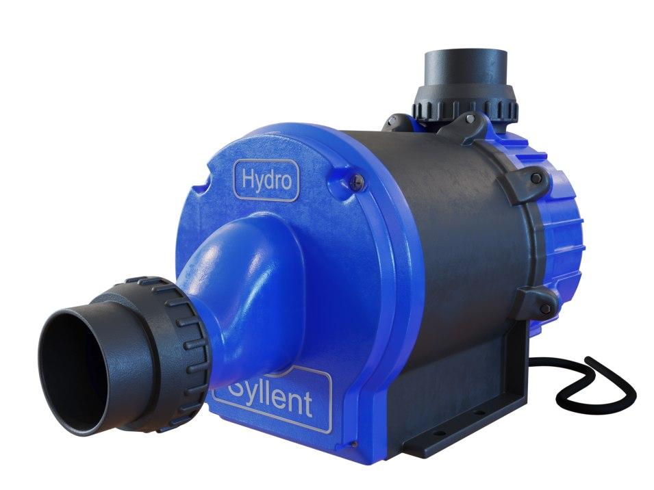 3D realistic syllent pump