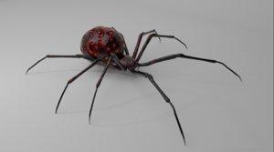 concept alien spider 3D