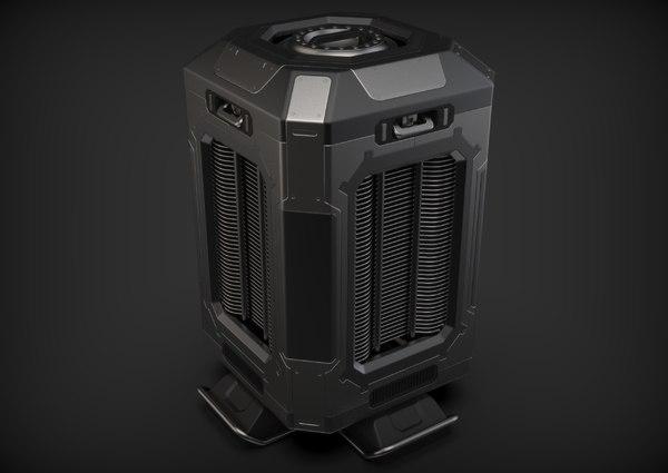 energo generator 3D model