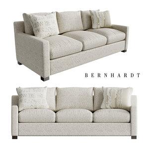 3D kelsey fabric sofa