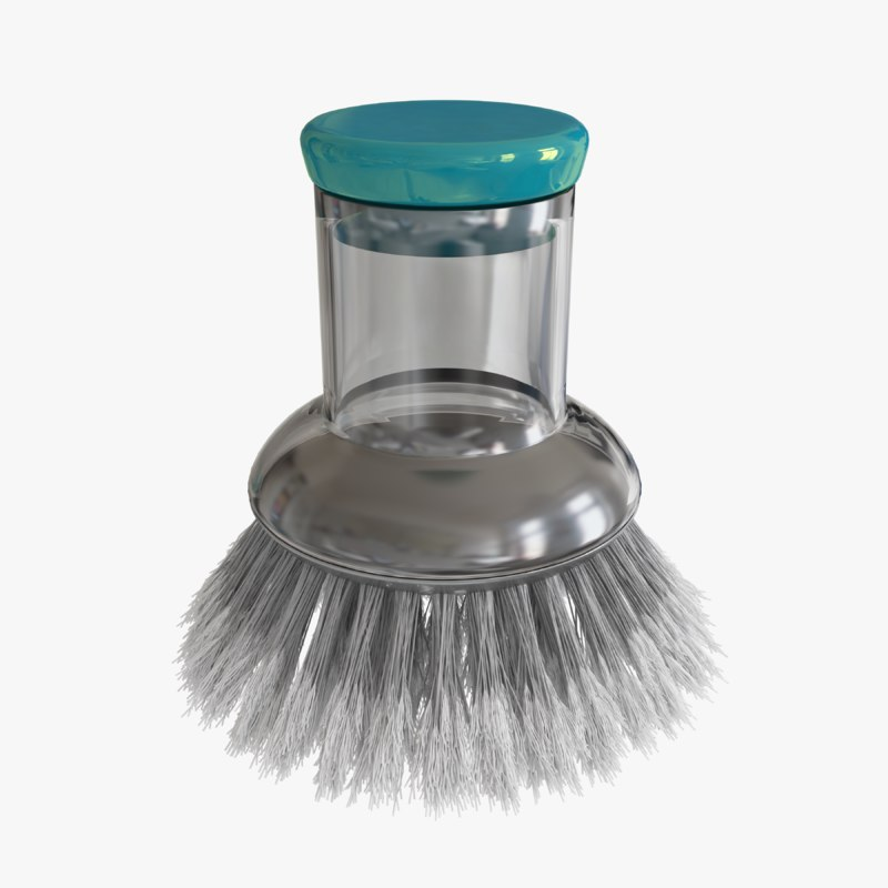 cleaning brush 3D model