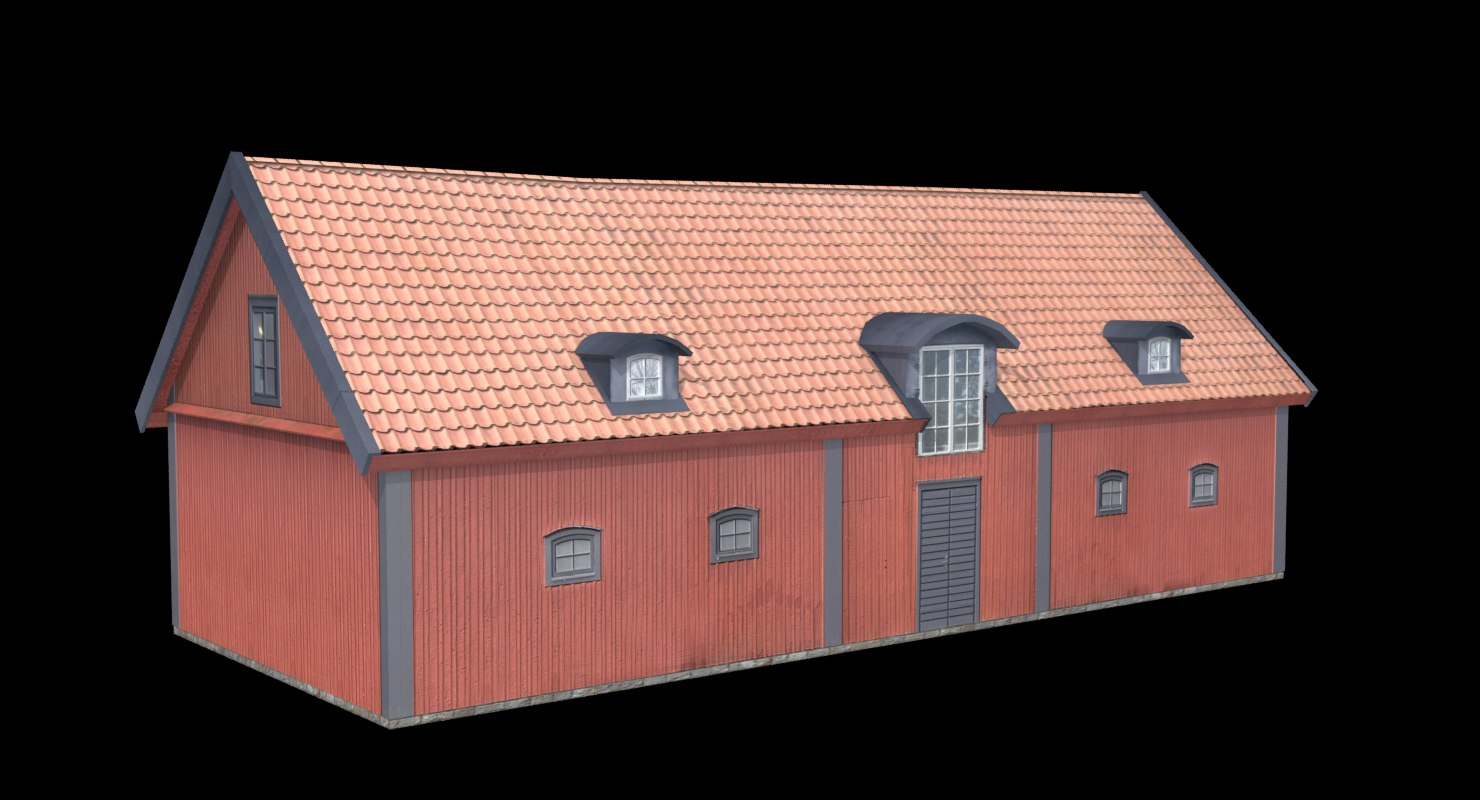 stable building ready 3D