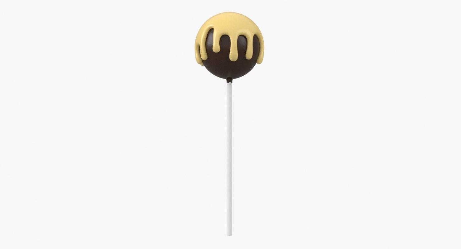 3D model lollipop