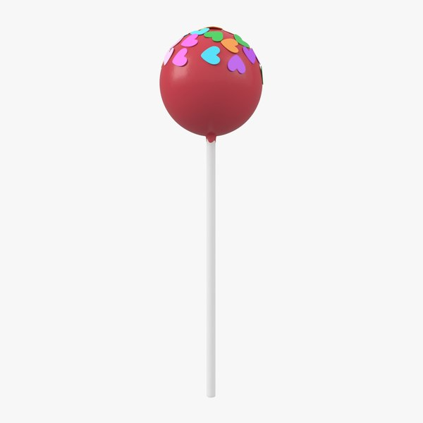 3D model lollipop
