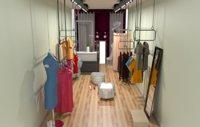 clothes shop 3D model