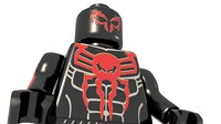 3D model lego spiderman 2099
