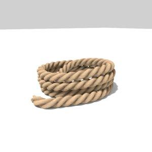 3D rope model