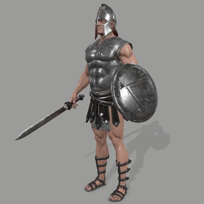 armor skirt helmet 3D model