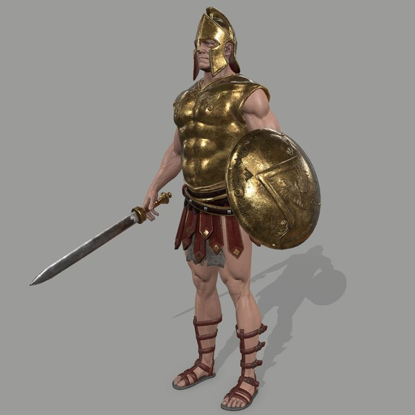 armor skirt helmet model