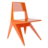 lamberti star chair 3D model