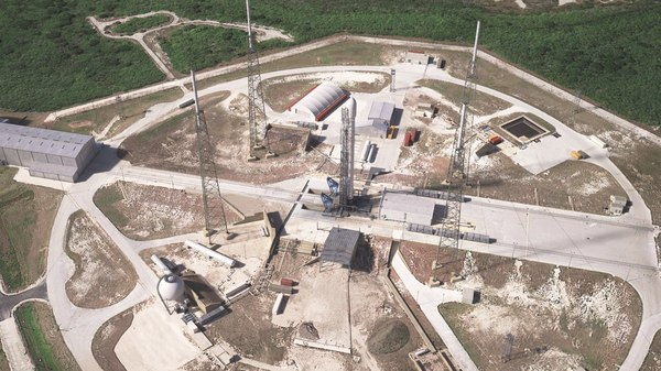 3D launch pad complex