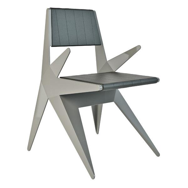 lamberti star armchair 3D