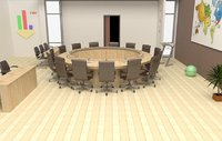 meeting hall 3D