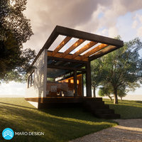 Wood House 1 Revit