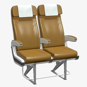 3D airplane chair v2