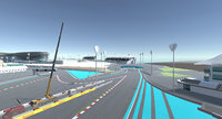 abu dhabi race track 3D