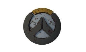 3D overwatch logo model