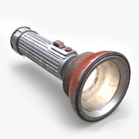 flashlight arnold 3D model