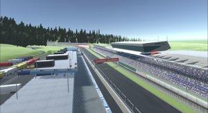3D austria race track model