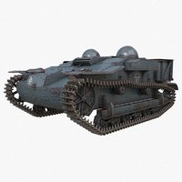 3D ue tracked armoured