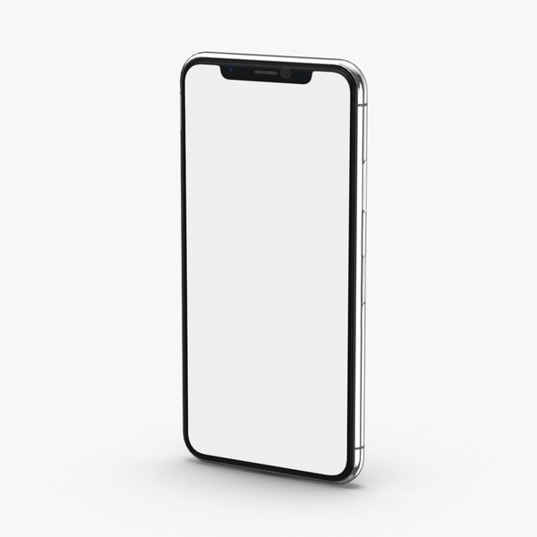 iphone-x---branded-silver 3D