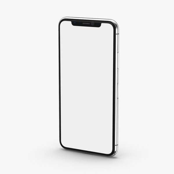 iphone-x---unbranded-silver 3D model