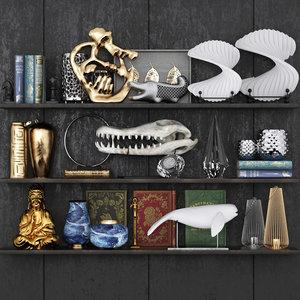 3D decoration collection model