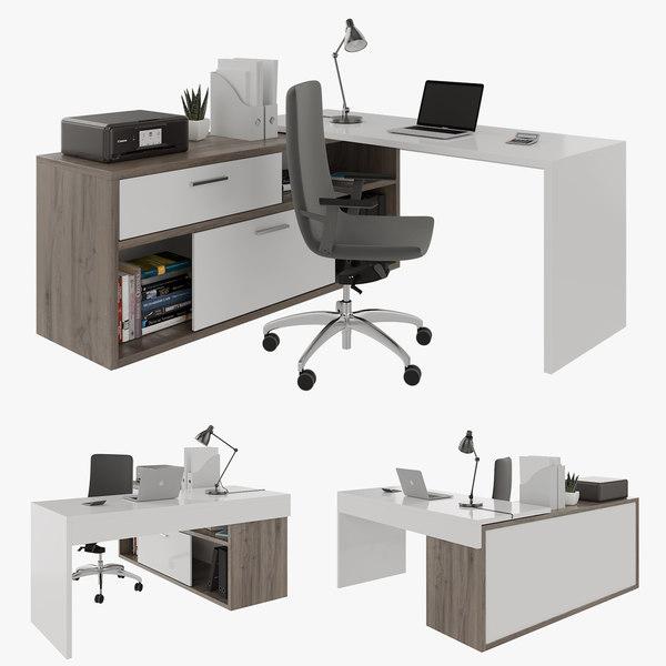 3D office desk decor
