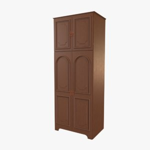furniture closet armoire 3D model