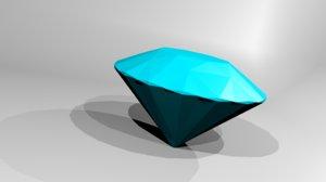 diamond 3D model