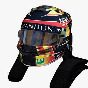 3D model helmet 1