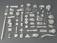 Kit bash(58 pieces) - collection-1