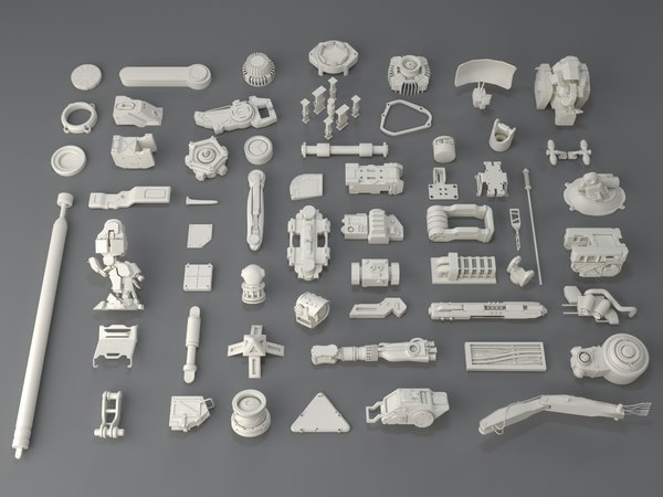 3D kit bashes - 58