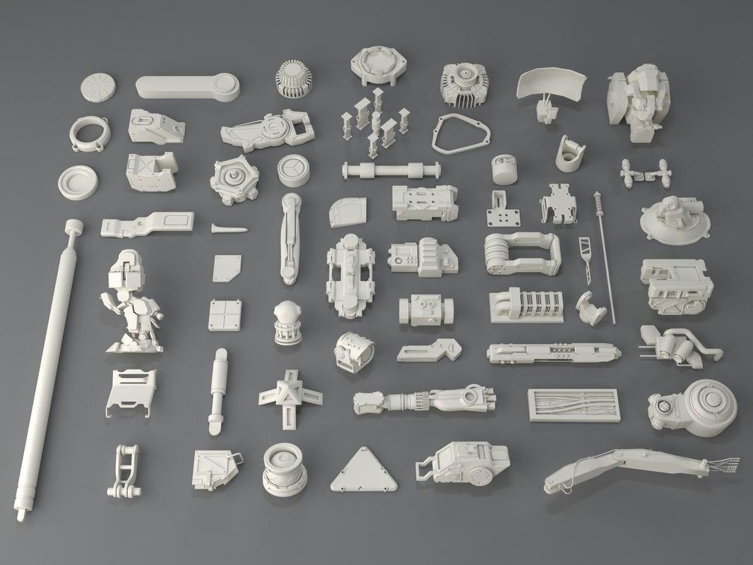 3D kit bashes - 58
