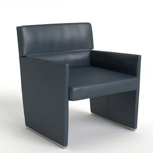 b posa chair 3D model