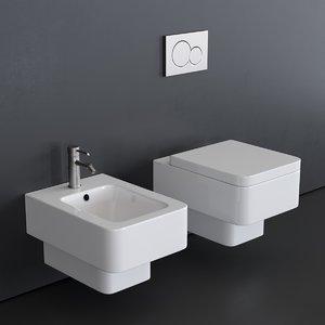3D model teorema toilet 8701 art