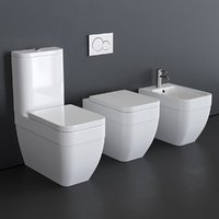 Scarabeo Ceramiche Next art.8303 art.8304 art.8305 bidet and toilet