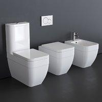 3D toilet 8303 bidet 8304