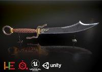 ue4 unity metallic 3D model