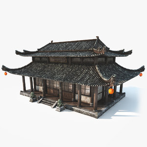 imperial chinese house model