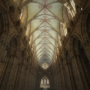 cathedral interior 3D